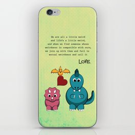 Mutual Weirdness Forever iPhone Skin
