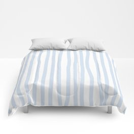 Light Blue Stripes Comforters