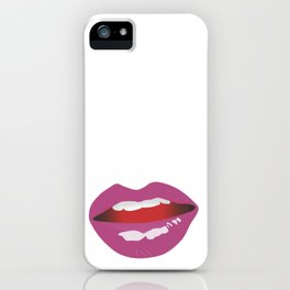 Bouche iPhone Case