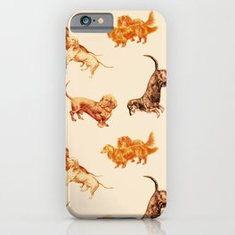 DACHSHUND DOGS iPhone Case