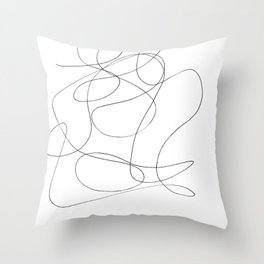 Took Too Much Acid Throw Pillow