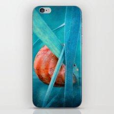 Alone in Blue iPhone & iPod Skin