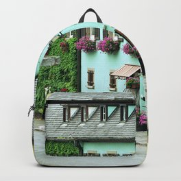 Pastel Town : Alsace Backpack