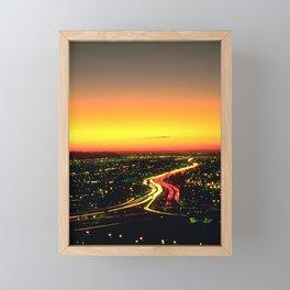 Not quite Sunset Blvd., but let's call it that Framed Mini Art Print