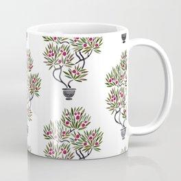 Bonsai Fruit Tree – Sage & Burgundy Palette Coffee Mug