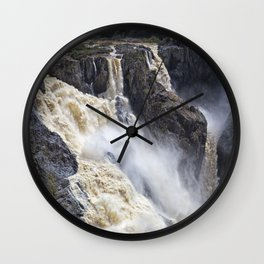 Enjoy the waterfall Wall Clock