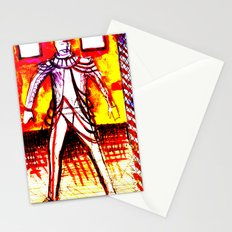 costume drawing tom w on set Stationery Cards