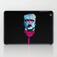 poe iPad Cases featuring Poe by Alvaro Tapia Hidalgo