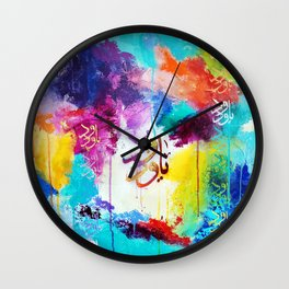 Love is a Give & Take Wall Clock