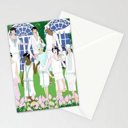 Gatsby Girl Garden Party Stationery Cards