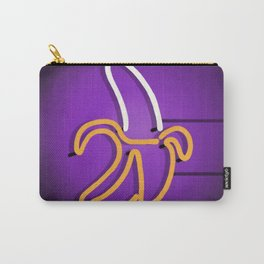 Banana neon sign Carry-All Pouch