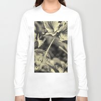hibiscus Long Sleeve T-shirts featuring Hibiscus by Fredy Mihaila