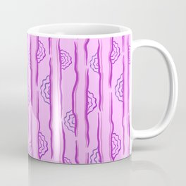 CALISTA VINTAGE, RETRO FLORAL: PASSION FOR PURPLE Coffee Mug