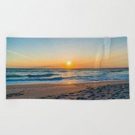 Canaveral National Seashore Sunrise Beach Towel
