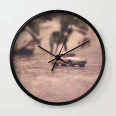 Julians Journey 6   in the midst of the storm Wall Clock