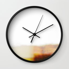 Mid century modern color block Wall Clock