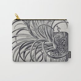 Botanical Air Plant Carry-All Pouch