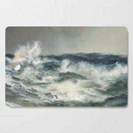 The Much Resounding Sea Thomas Moran Cutting Board