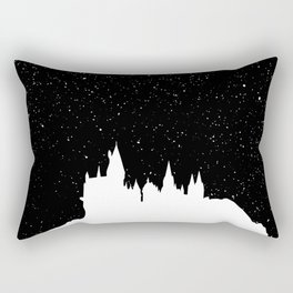 Hogwarts Space Rectangular Pillow