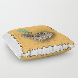 Patterned Apple Floor Pillow