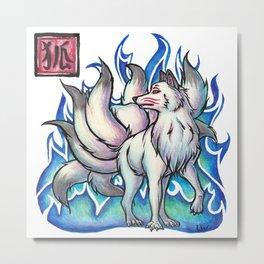 Legends - Kitsune Metal Print