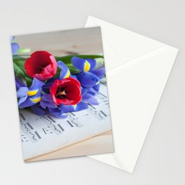 Musical Mood Stationery Cards