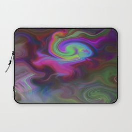 Turbulence - Midnight flower Laptop Sleeve