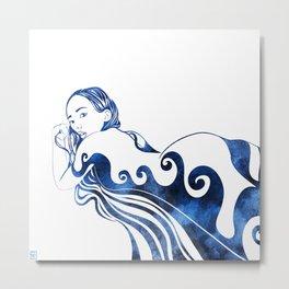 Water Nymph III Metal Print