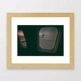 Early Morning Flight Framed Art Print