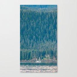 A Fisherman's Rest Canvas Print