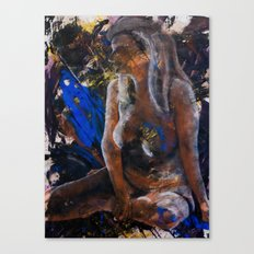 Contemplations on the Void Canvas Print