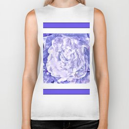 The Gathering Of The Peonies And Butterflies Biker Tank