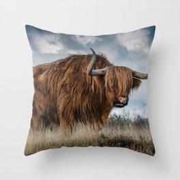 Highlander 1 Throw Pillow