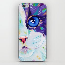 Cats in colour 4 iPhone Skin