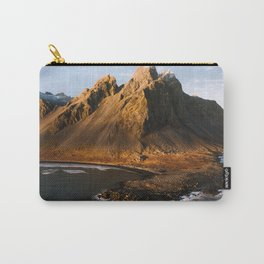 Vestrahorn – Mountain by the Sea Carry-All Pouch