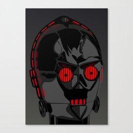 Darth-PO Canvas Print