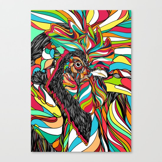 Tropical Cock (Feat. Bryan Gallardo) Canvas Print