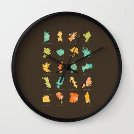Urban Forms Wall Clock