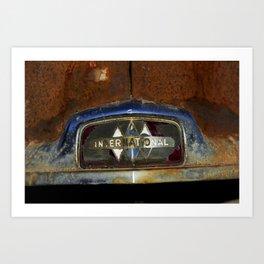 International Truck Emblem Art Print