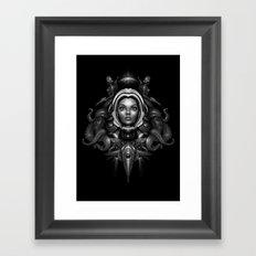 Space Horror 3000 Framed Art Print