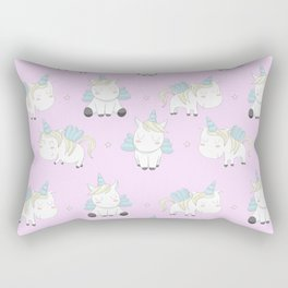 Pegacorn - Pink Rectangular Pillow