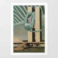Hang Up The Phone Art Print