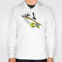 skate Hoodies featuring skate by Cal ce tin