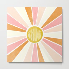 sundial shine Metal Print