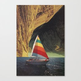 On Holiday Canvas Print