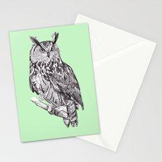 Eagle Owl Stationery Cards