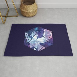 D20 Dragon Bright Soul Rug