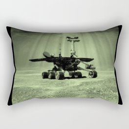 Mars Rover Rectangular Pillow