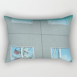 Reflections - Tokyo Dome Thunder Dolphin and Big-O Rectangular Pillow