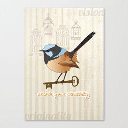 Unlock Your Creativity Canvas Print